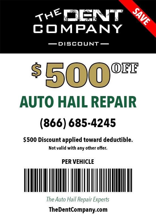 The Dent CO Auto Hail Repair Deductible